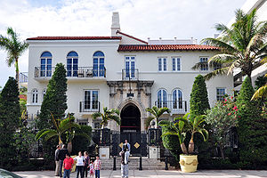 Gianni Versace mansion, South Beach, Miami, Fl...