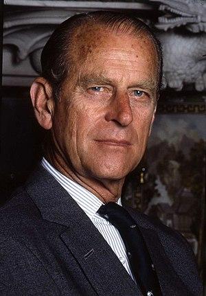 Portrait of The Duke of Edinburgh at Buckingha...