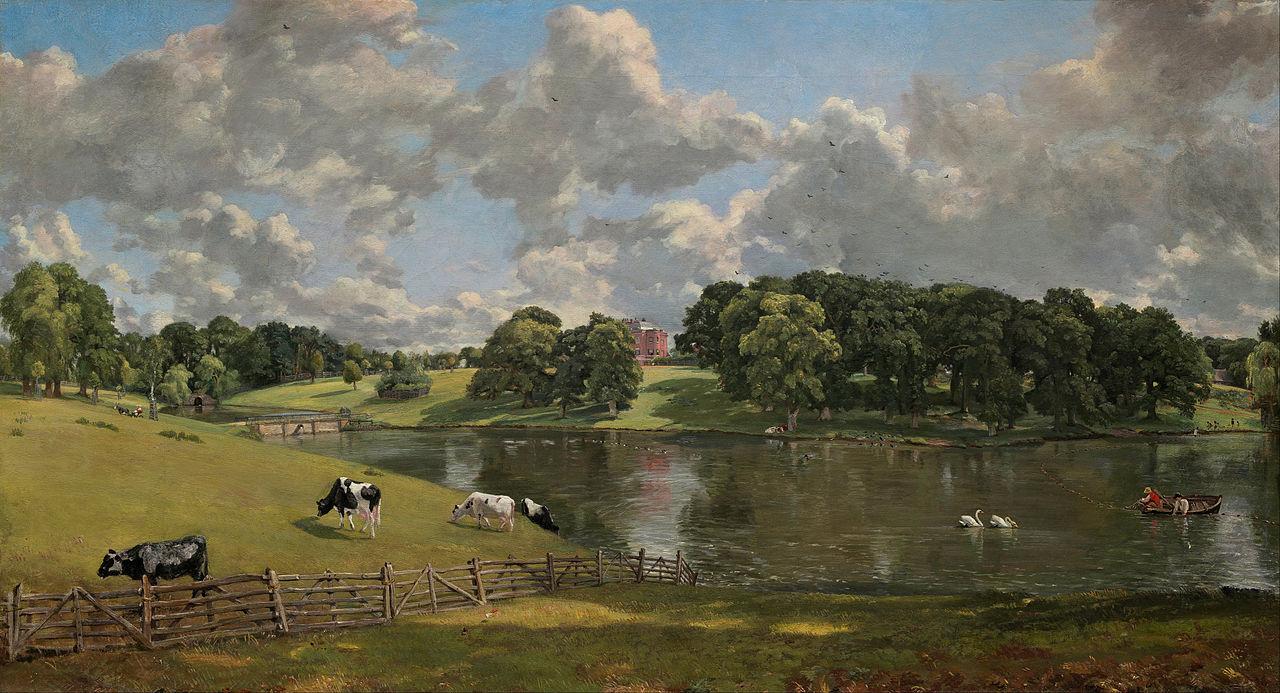 John Constable - Wivenhoe Park, Essex