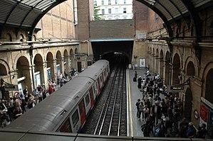 Paddington Underground Station, London