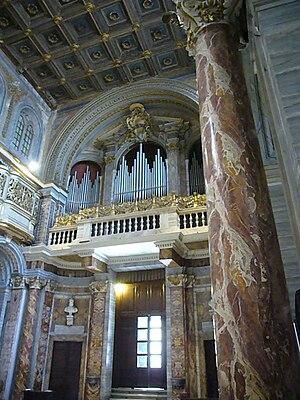 Italiano: Roma, basilica di san Marco, controf...