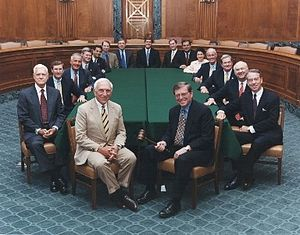 The Senate Committee on Budget (ca.1997-2001).