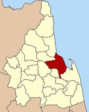 Amphoe location in Nakhon Si Thammarat Province