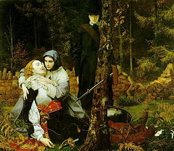 The Wounded Cavalier by William Shakespeare Burton