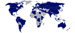 Members of CD (Conference on Disarmament).