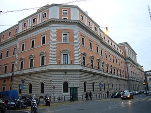 Italiano: Roma, Ministero della Difesa a via X...