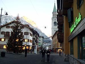 Corso Italia, Cortina d'Ampezzo, Belluno, Vene...