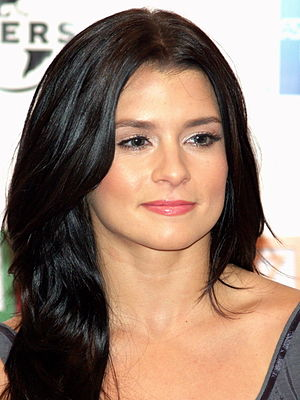 Danica Patrick at the premiere of Baby Mama in...