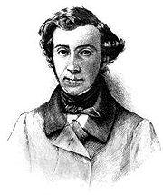 Alexis de Tocqueville. Fotograbado de una estampa, de la edición estadounidense de 1899 de Democracy In America