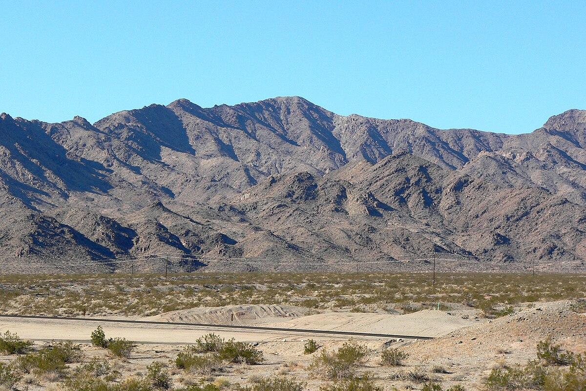 California Mountain Region