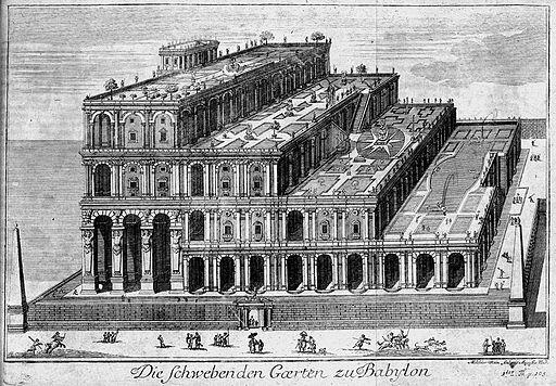 Die hängenden Gärten von Babylon 1726