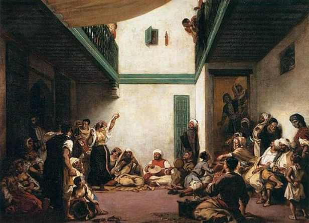 """Jewish Wedding in Morocco"" by Eugène Delacroix"