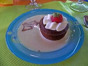 Français : Fonfant au Chocolat