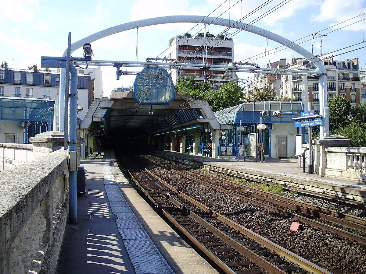 Avenue Du Prsident Kennedy Paris RER Wikipedia