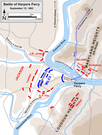 Map John Brown S Raid
