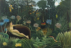 Museum of Modern Art Henri Rousseau. The Dream...