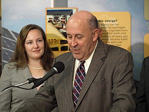 Jim Doyle and Kelda Roys