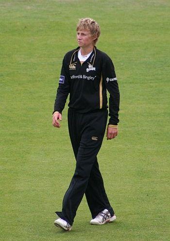 English: Joe Root makes his Yorkshire debut at...