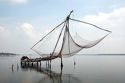 Kochi chinese fishing-net-20080215-01a