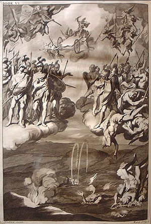 Engraving by Michael Burgesse after John Bapti...
