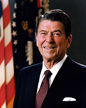 Official Portrait of President Ronald Reagan