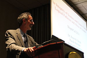 English: Peter Gleick lectures at SkeptiCalCon...