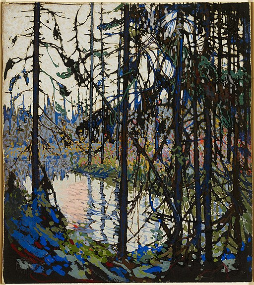 """Study for """"Northern River"""" by Tom Thomson"""