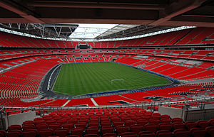 Wembley Stadium, London England