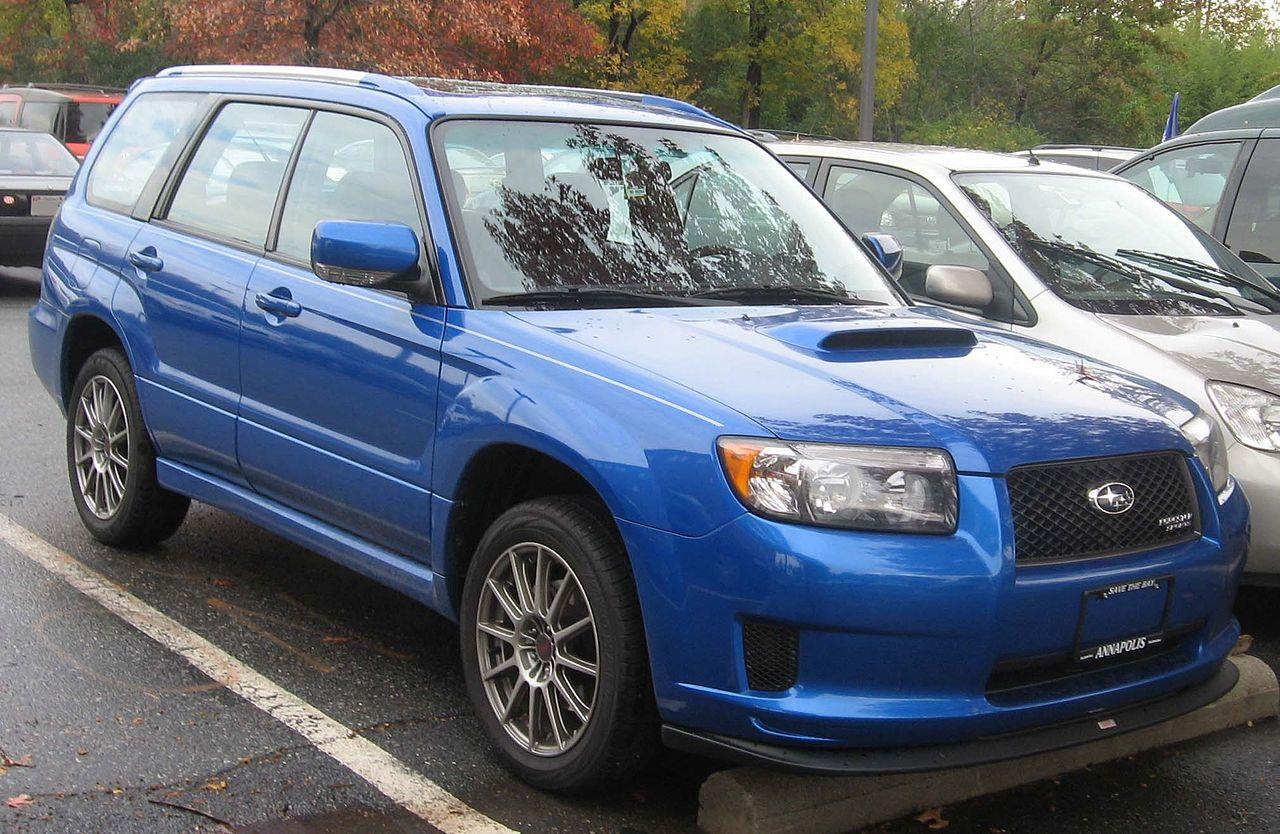 Black 2008 Subaru Outback Turbo