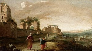 Bartholomeus Breenbergh - Elijah and the Widow...