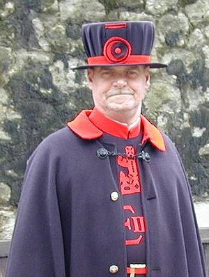 Beefeater at the Tower Of London, taken by Adr...