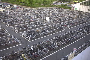 A parking lot for bicycles in Niigata%2C_Niiga...
