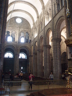 English: Cathedral of Santiago of Compostela, ...