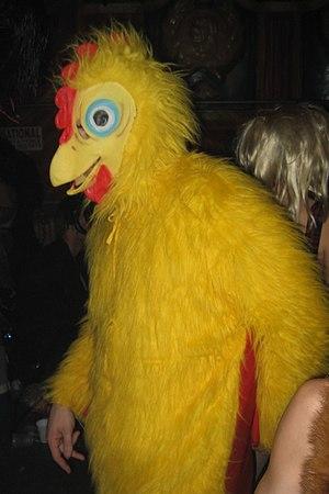 Chicken costume, New Orleans Mardi Gras