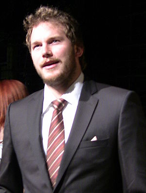English: Actor Chris Pratt at the premiere par...