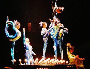 Cirque du Soleil performing Dralion in Vienna,...