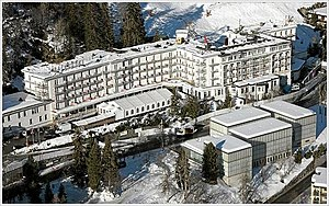 DAVOS/SWITZERLAND, 17JAN08 - Aerial Photo of D...