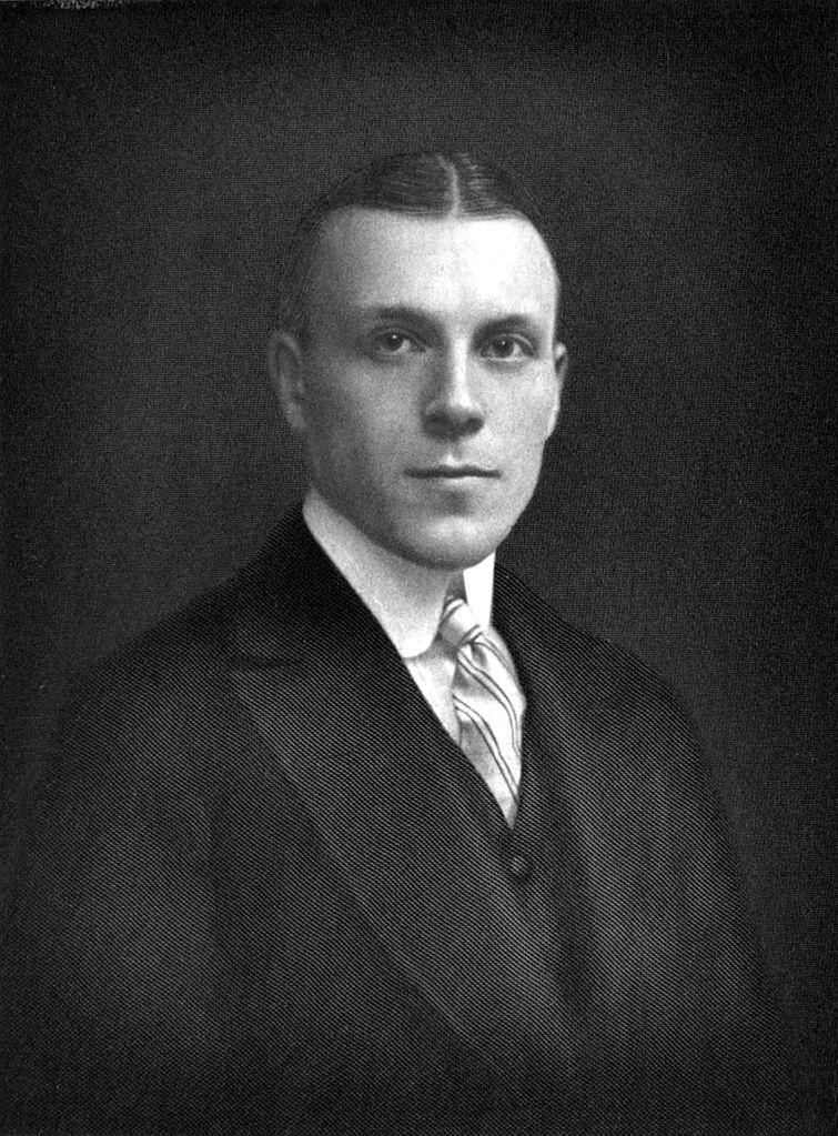 Harry Widener portrait