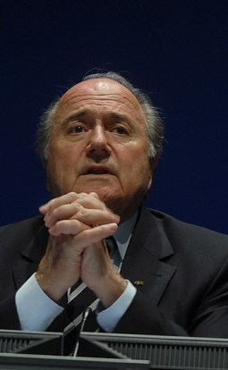 "English: Joseph ""Sepp"" Blatter, Pres..."
