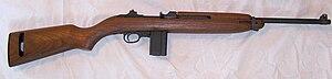 An Auto Ordnance M1 Carbine.