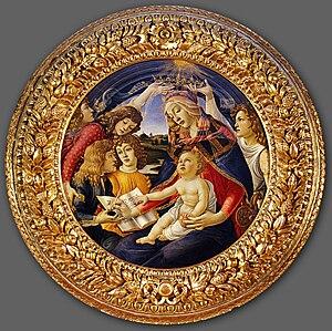 Sandro Botticelli, Magnificat, 1480-81, temper...