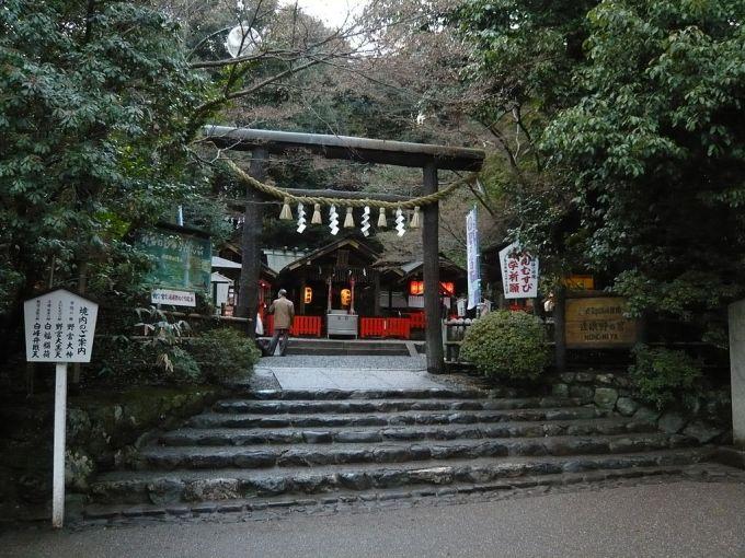 Nonomiya-jinja torii