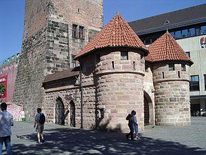 Nuremberg White Tower f w