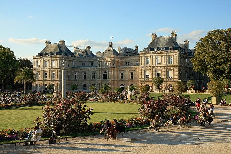 Archivo:Palais Luxembourg Sunset.JPG