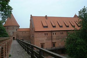 Teutonic castle in Bytów