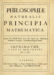 Principia title page