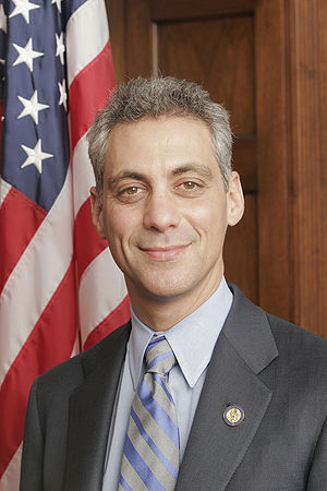 Rahm Emanuel, White House Chief of Staff, form...