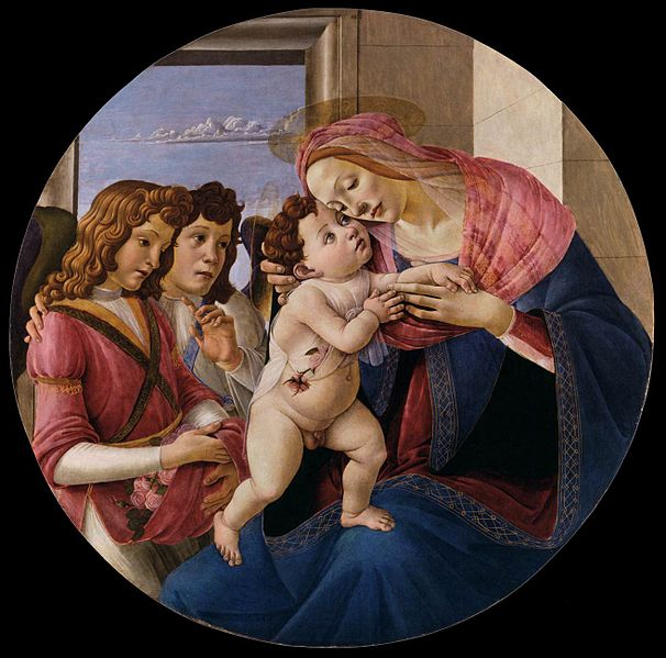 File:Sandro Botticelli - Virgin and Child with Two Angels - WGA02721.jpg