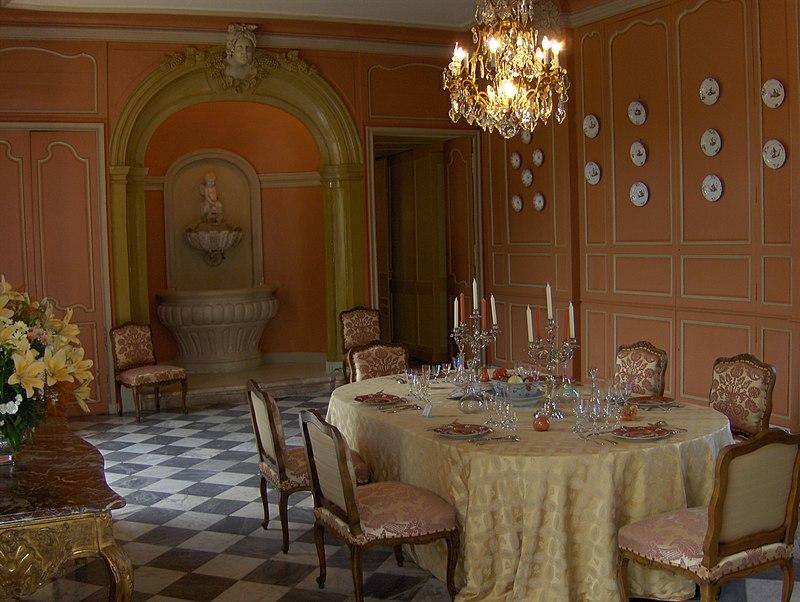 SchlossVillandryEsszimmer