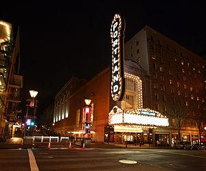 The Arlene Schnitzer Concert Hall in Portland,...